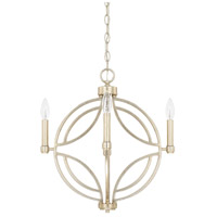 Capital Lighting 321241WG Mercer 4 Light 18 inch Winter Gold Pendant Ceiling Light