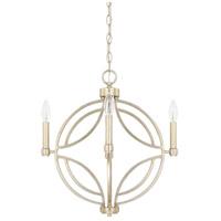 Capital Lighting 321241WG Mercer 4 Light 18 inch Winter Gold Pendant Ceiling Light