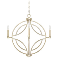 Mercer 4 Light 25 inch Winter Gold Pendant Ceiling Light