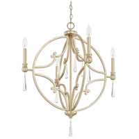 Mercer 4 Light 26 inch Winter Gold Pendant Ceiling Light