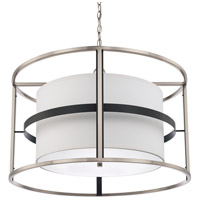 Tux 4 Light 28 inch Black Tie Pendant Ceiling Light