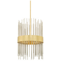 Capital Lighting 325441FI Lena 4 Light 15 inch Fire and Ice Pendant Ceiling Light