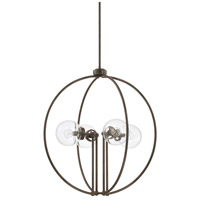 Capital Lighting 325641NG Signature 4 Light 26 inch Nordic Grey Pendant Ceiling Light