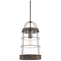 Capital Lighting 327412NG Beaufort 1 Light 11 inch Nordic Grey Pendant Ceiling Light