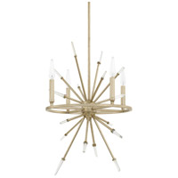 Adira 4 Light 17 inch Winter Gold Pendant Ceiling Light