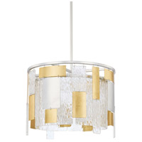 Capital Lighting 328341MX Signature 4 Light 18 inch Mixed Metal Pendant Ceiling Light