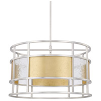 Capital Lighting 328342MX Elijah 4 Light 24 inch Mixed Metal Pendant Ceiling Light