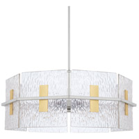 Capital Lighting 328343MX Elijah 4 Light 26 inch Mixed Metal Pendant Ceiling Light