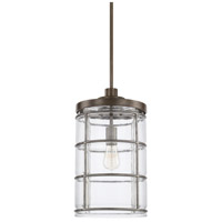 Capital Lighting 329412UG-446 Colby 1 Light 10 inch Urban Grey Pendant Ceiling Light