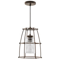 Capital Lighting 329711NG-462 Turner 1 Light 11 inch Nordic Grey Pendant Ceiling Light