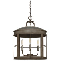 Capital Lighting 329741UG Elijah 4 Light 16 inch Urban Grey Pendant Ceiling Light