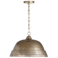Capital Lighting 330311XN Signature 1 Light 18 inch Oxidized Nickel Pendant Ceiling Light