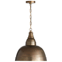 Capital Lighting 330313XB Signature 1 Light 17 inch Oxidized Brass Pendant Ceiling Light