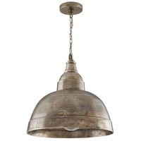 Capital Lighting 330313XN Sedona 1 Light 17 inch Oxidized Nickel Pendant Ceiling Light