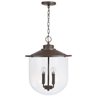Capital Lighting 330841MI Pawley 4 Light 17 inch Mineral Brown Pendant Ceiling Light