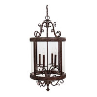 Capital Lighting Signature 4 Light Foyer in Tortoise 3324TS