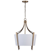 Capital Lighting 332512AD Signature 1 Light 20 inch Aged Brass Pendant Ceiling Light