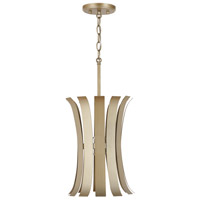 Capital Lighting 332711AP Cayden 1 Light 11 inch Aged Brass Painted Pendant Ceiling Light