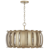 Capital Lighting 332741AP Cayden 4 Light 23 inch Aged Brass Painted Pendant Ceiling Light