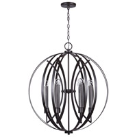 Capital Lighting 333761MG Lathem 6 Light 26 inch Midnight Grey Pendant Ceiling Light