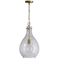 Capital Lighting 333813PA-472 Elijah 1 Light 12 inch Patinaed Brass Pendant Ceiling Light