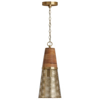 Capital Lighting 333911DG-693 Signature 1 Light 8 inch Desert Gold Pendant Ceiling Light