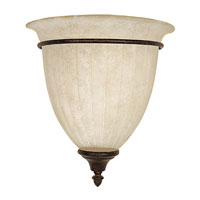 Capital Lighting Signature 1 Light Sconce in Tortoise 3341TS-RS