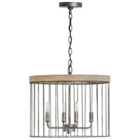 Capital Lighting Urban Wash Wood Pendants