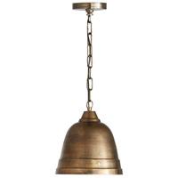 Capital Lighting 335312XB Signature 1 Light 10 inch Oxidized Brass Pendant Ceiling Light
