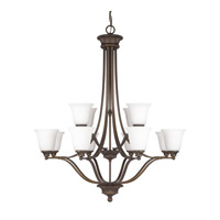 Capital Lighting Belmont 12 Light Chandelier in Burnished Bronze 3412BB-242