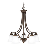 Capital Lighting Belmont 5 Light Chandelier in Burnished Bronze 3416BB-242