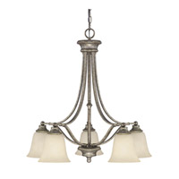 Capital Lighting Belmont 5 Light Chandelier in Creek Stone 3416CS-287