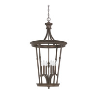 Capital Lighting Hill House 6 Light Foyer in Burnished Bronze 3560BB