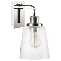 Capital Lighting Signature 1 Light Sconce in Polished Nickel 3711PN-135