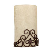 Capital Lighting Signature 3 Light Sconce in Mediterranean Bronze 3761MZ