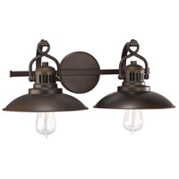 ONeill 2 Light 20 inch Burnished Bronze Vanity Light Wall Light