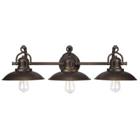 ONeill 3 Light 30 inch Burnished Bronze Vanity Light Wall Light