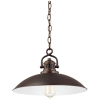 Capital Lighting 3798BB ONeill 1 Light 15 inch Burnished Bronze Pendant Ceiling Light
