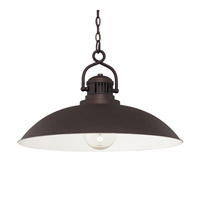 Capital Lighting ONeal 1 Light Pendant in Burnished Bronze 3799BB