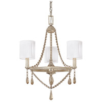 Fifth Avenue 3 Light 18 inch Winter Gold Chandelier Ceiling Light