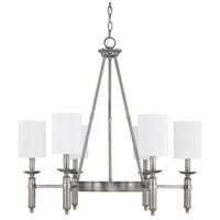Capital Lighting Covington 6 Light Chandelier in Antique Nickel 4046AN-489