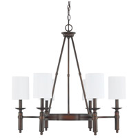 Capital Lighting Covington 6 Light Chandelier in Burnished Bronze 4046BB-489