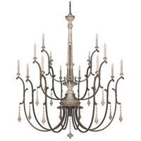 Chateau 16 Light 54 inch French Oak Chandelier Ceiling Light