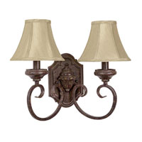 Capital Lighting Villa 2 Light Sconce in Tortoise 4100TS-418