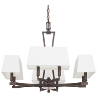 Westbrook 8 Light 28 inch Burnished Bronze Chandelier Ceiling Light