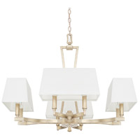 Westbrook 8 Light 28 inch Winter Gold Chandelier Ceiling Light
