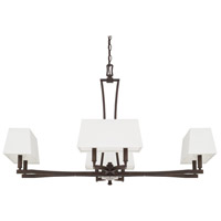 Capital Lighting Westbrook 8 Light Chandelier in Burnished Bronze 410182BB-657