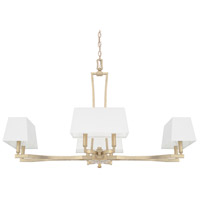 Capital Lighting Westbrook 8 Light Chandelier in Winter Gold 410182WG-657