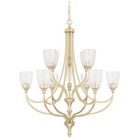 Seaton 10 Light 36 inch Soft Gold Chandelier Ceiling Light