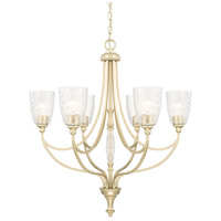 Seaton 6 Light 30 inch Soft Gold Chandelier Ceiling Light
